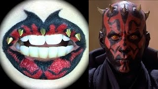 Darth Maul Lip Art: Sith vs Jedi Collaboration with Nijigasumi16 Thumbnail