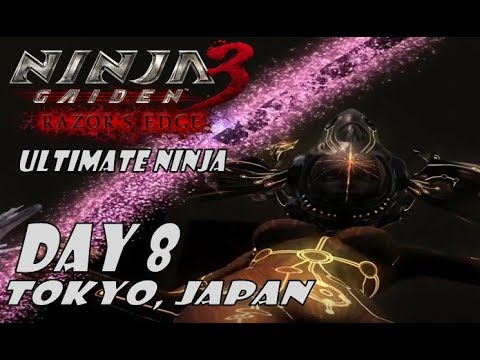 Ninja Gaiden 3 Razor S Edge Day 8 Tokyo Japan Ultimate Ninja Youtube