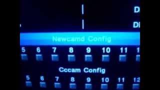 AZBOX TITAN - Busca de canais - Configurar CS - Organizar lista de canais de A-Z