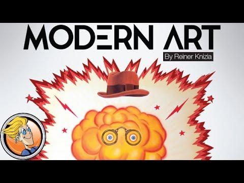 Modern Art — game preview at Origins Game Fair 2017