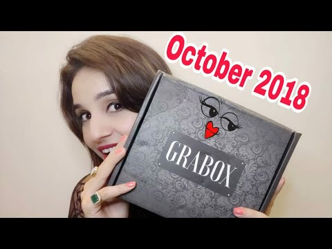 GRABOX October 2018 | COD | Most Affordable  Subscription Box | Jewel Box | Unboxing & Review |