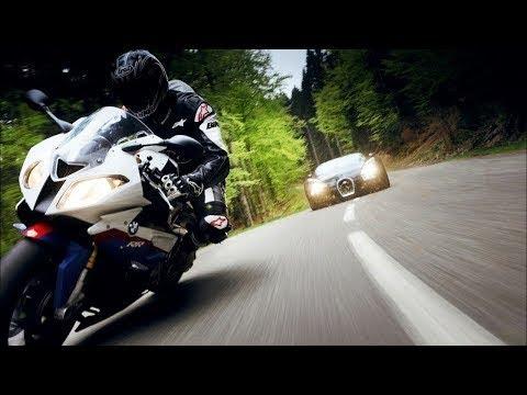 Download Bugatti Chiron Vs BMW S1000RR Top Speed DRAG