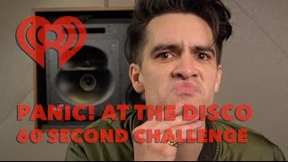 "Brendon Urie (Panic! at the Disco) - ""60 Sec Challenge"" Interview 
