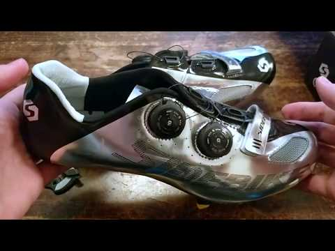 Sidebike Cycling Shoes Review - Silver