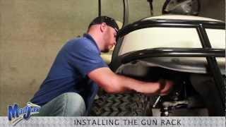 Gun Rack | How To Install Video | Madjax® Golf Cart Accessories