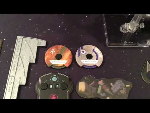 Star Wars X-wing Miniatures Game Part 110 (C-ROC Cruiser Expansion Pack)