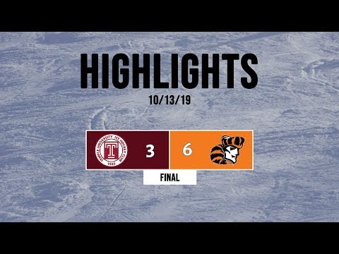 Highlights | Temple Owls Vs. William Paterson Pioneers - 10/13/19