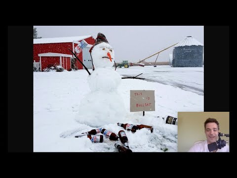 Michael Wipes Out Pecans+ - Snow Prevents Harvest - No Meat, and Robot Farms in Grand Solar Minimum