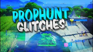 Fortnite Prop Hunt Glitches - OnTop Of Map In Prop Hunt Glitch! Best Glitch Hiding Spots in Fortnite