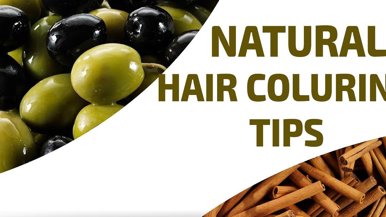 DIY - Natural Hair Color Recipe   Easy Hair Coloring Tips - YouTube