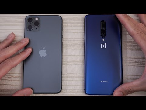 IPhone 11 Pro Max Vs OnePlus 7 Pro - Speed Test! Which Is Faster?!