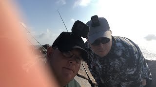 LIVE🔴 IN Port Aransas TX Jetty fishing!!!!