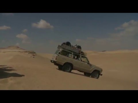 Driving the Sahara - Shane O goes to Egypt (ep 7)