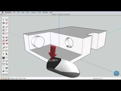 Sketchup Tutorial For Beginners-Part 1