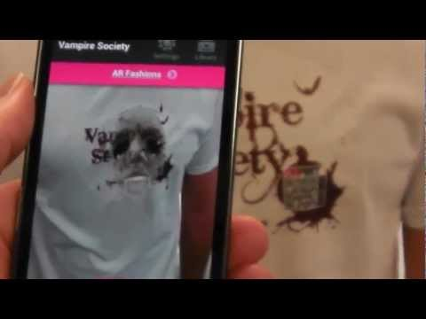 Vampire Augmented Reality T-Shirt  - Available to Buy