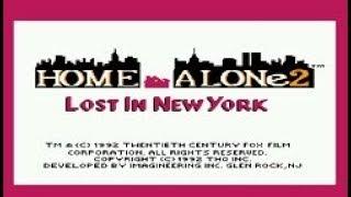 Полное прохождение (((Dendy))) Home Alone 2 Lost in New York / Один дома 2 Потерянный в Нью-Йорке
