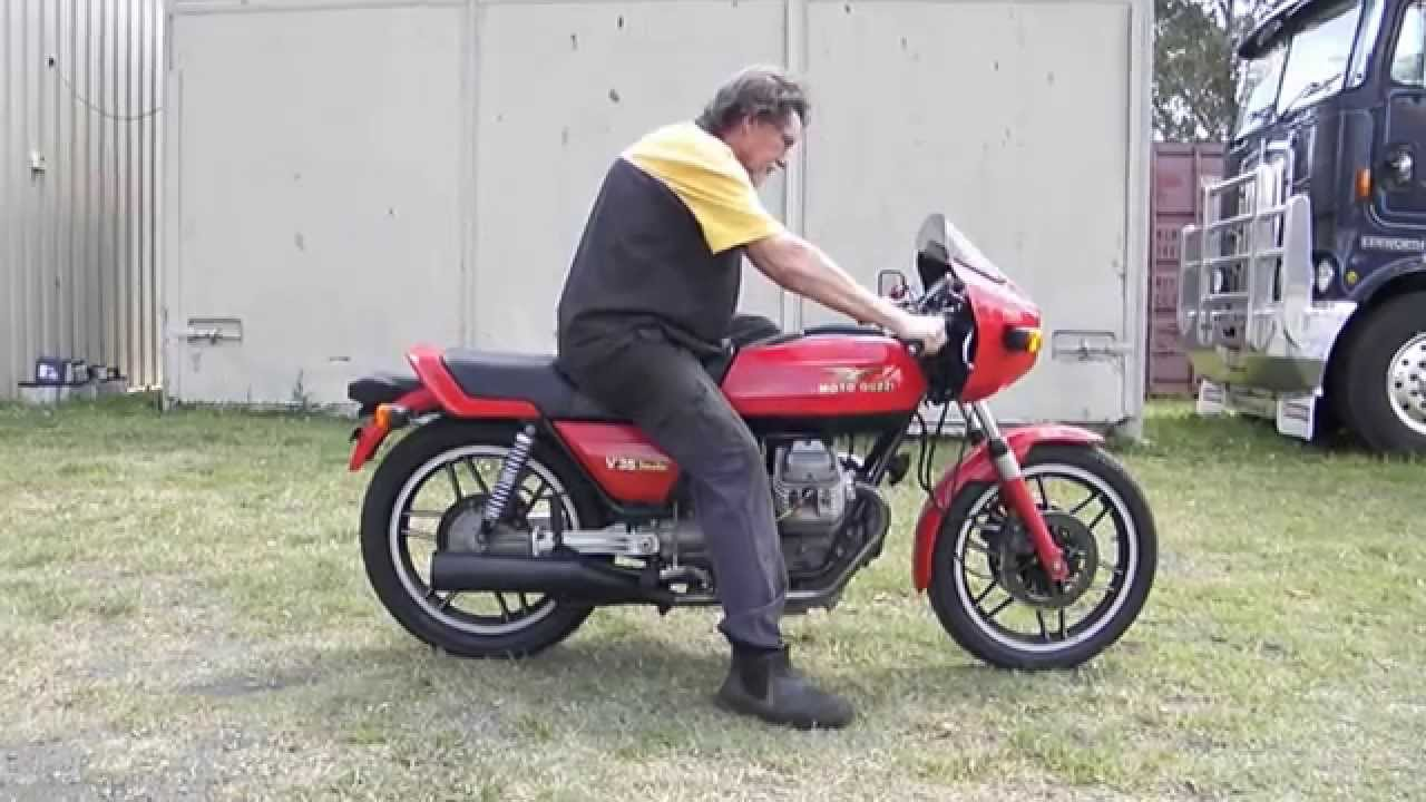 moto guzzi v35 youtube. Black Bedroom Furniture Sets. Home Design Ideas