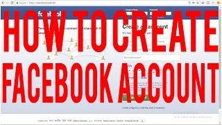 PC PC Sürüm 2018 ll ll ll Teknoloji Telecome Üzerinde Facebook Hesabı Oluşturma
