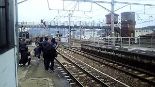 (激レア 過去動画)JR四国 多度津駅 115系湘南色ツアー列車 到着