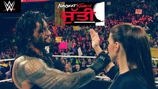 Jutti Punjabi Song- Roman Reigns Funny Punjabi Video -Destroying Triple H