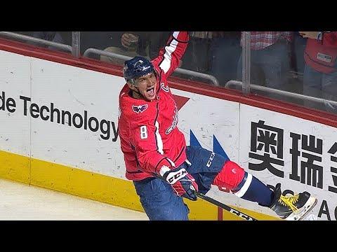 Alex Ovechkin's 600th NHL goal