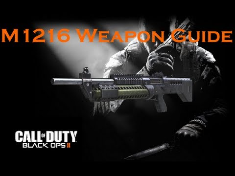 Call of Duty Black Ops 2 Weapon Guide: M1216 (Best Class ... M1216 Black Ops 2