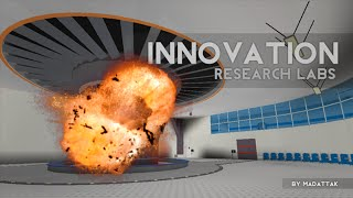 Blowing up the Innovation Inc. Core (+Tour) | ROBLOX