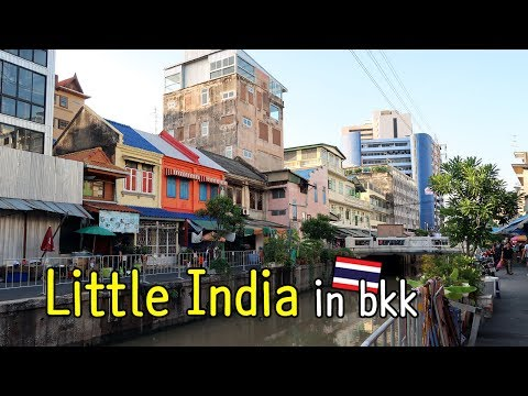 Another color of Bangkok : Little India Phahurat road (ถนนพาหุรัด) in Bangkok, Thailand
