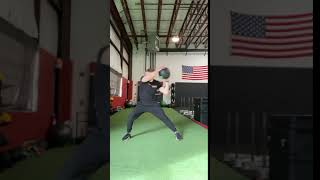 EricCressey.com: Lateral Lunge with Fake Medicine Ball Chop