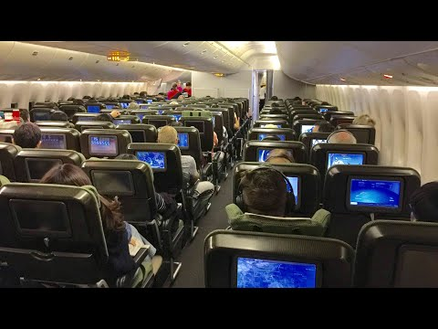 [Flight Experience] Qantas B747 ECONOMY class | Hong Kong to Sydney QF128