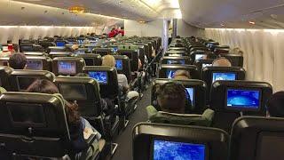 [NEW Flight Experience] Qantas B747 ECONOMY class – Hong Kong to Sydney QF128