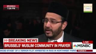msnbc: Ahmadiyya Imam condemns Brussels terror attacks