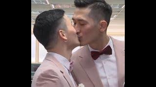 """台湾同性婚姻专法正式生效 """"我们很幸运"""""""