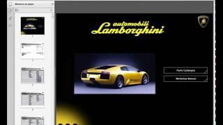 Lamborghini Murcielago - Service Manual - Parts Manual