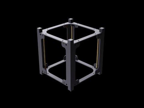 1U CubeSat Structure by EnduroSat