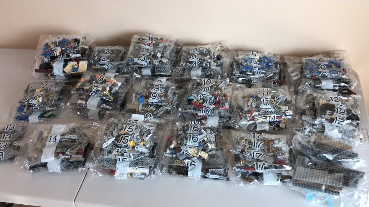 Closer Look At Ucs Millennium Falcon Bags