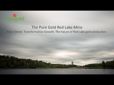 Pure Gold Mining CEO - Darin Labrenz. Dream Big. VRIC Oxygen Breakfast Vancouver BC January 2020.