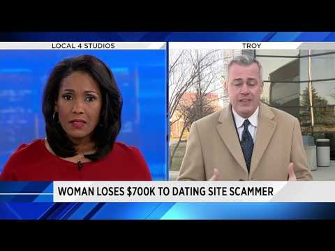 woman scammed dating website