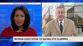 Troy woman loses more than $700,000 in online dating site scam