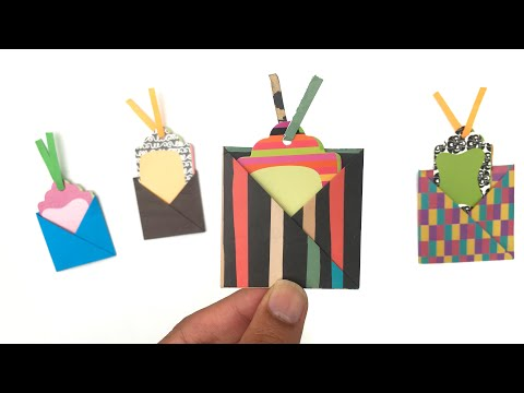 Pocket Message holding Card - DIY Origami Tutorial by Paper Folds - 978