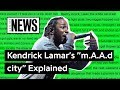 "Capture de la vidéo Kendrick Lamar's ""M.a.a.d City"" Explained 