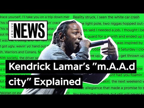 "Kendrick Lamar's ""m.A.A.d city"" Explained 