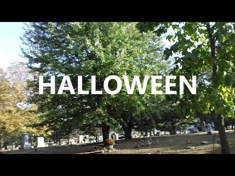 Haunted Greenwood Cemetery and Chapel - Rockford, IL (October 2017) Happy Halloween!