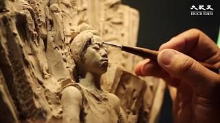 【香港不孤單】盾牌女孩雕塑 為香港加油!
