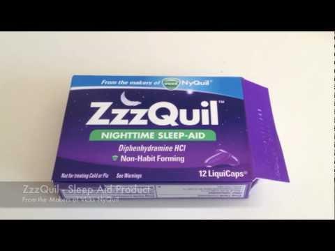 Vicks Zzzquil Sleep Aid