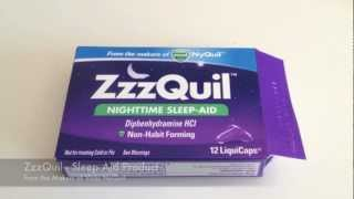 Vicks ZzzQuil Sleep Aid - Product Review