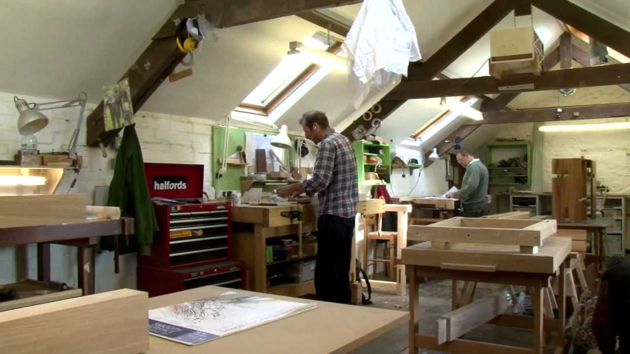 Woodworking School Workshop Tour Youtube