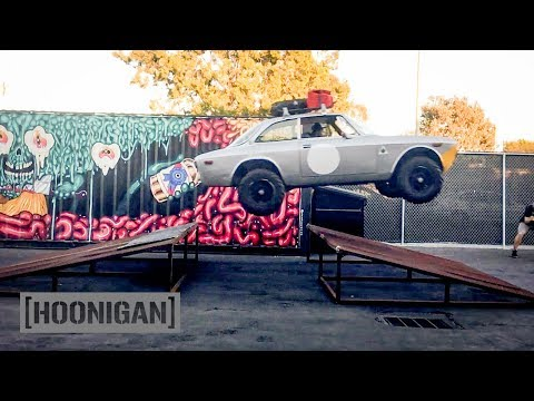 [HOONIGAN] DT 219: Alfa Romeo Explodes on Impact!
