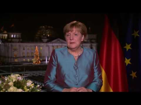 Angela Merkel — 2017 New Year's Speech (English subtitles)