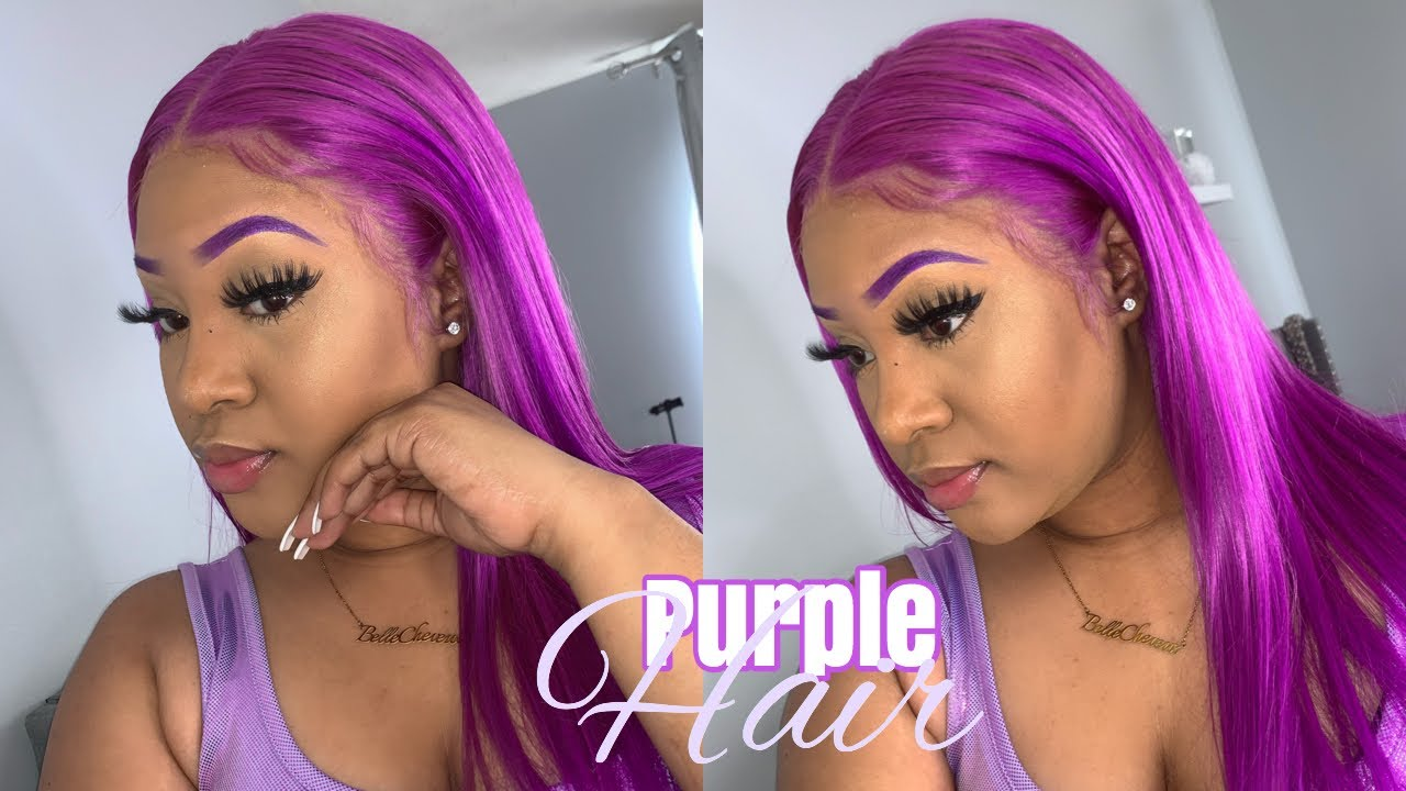 "Beginner Friendly Purple Hair | My wigs are ""TOO EXPENSIVE"" 🥴💰 